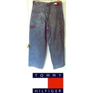 Vintage Tommy Hilfiger Jean 33/30 Large Tag emblem